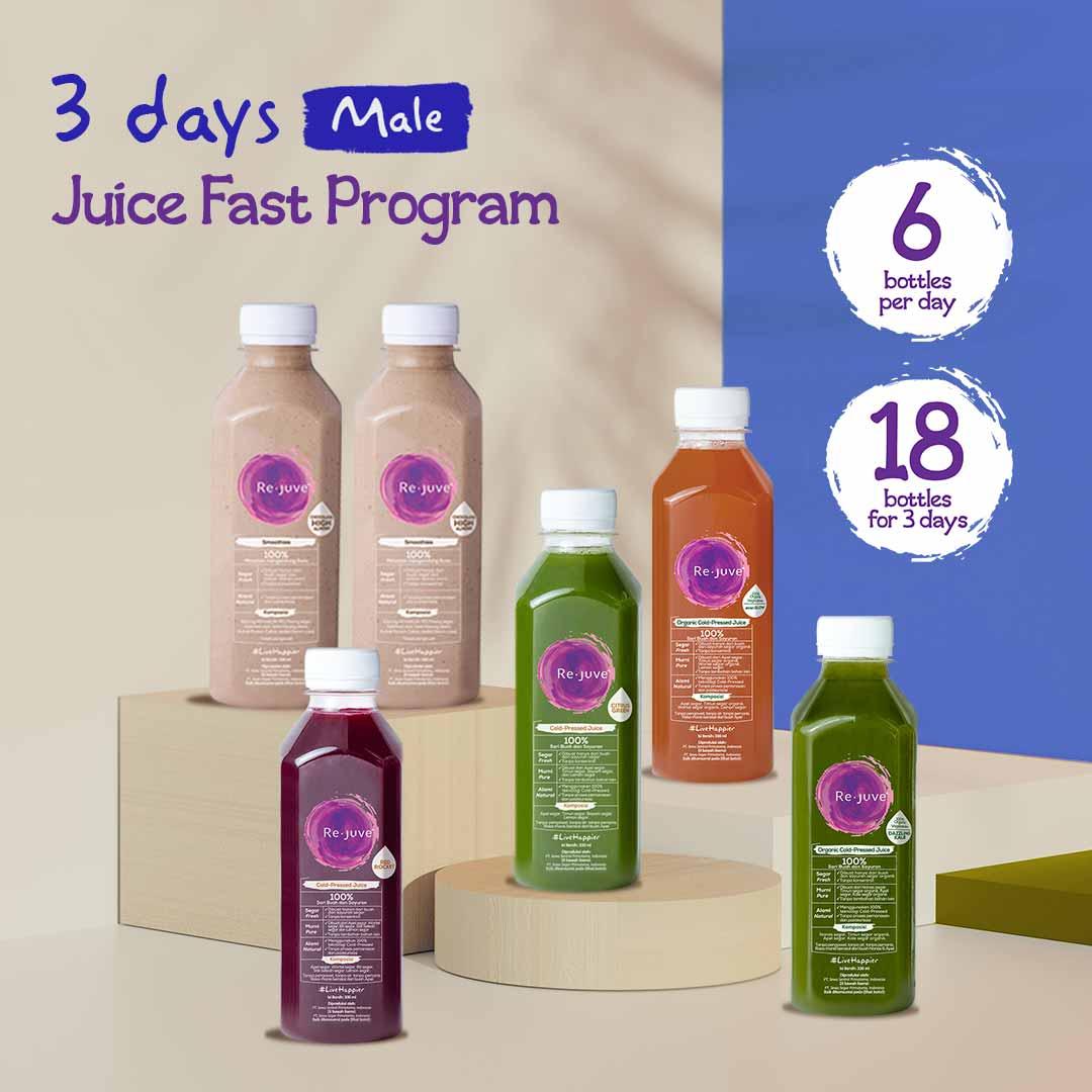 Rejuve 3 Days Juice Fast Program Male Surabaya