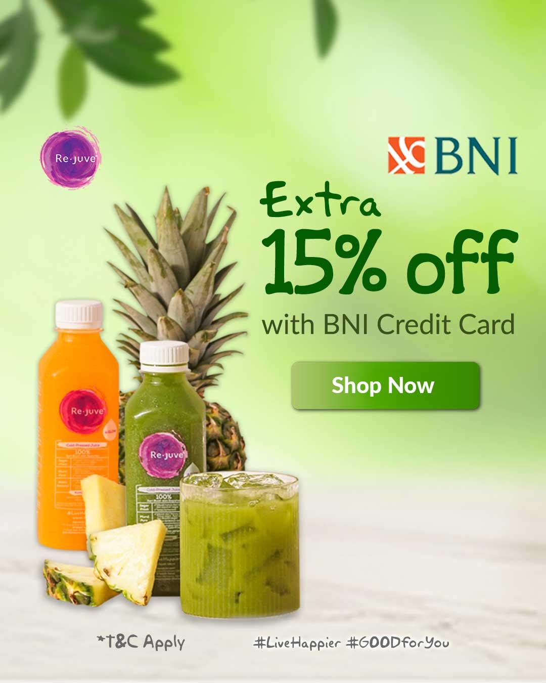 Rejuve BNI Credit Card Promo