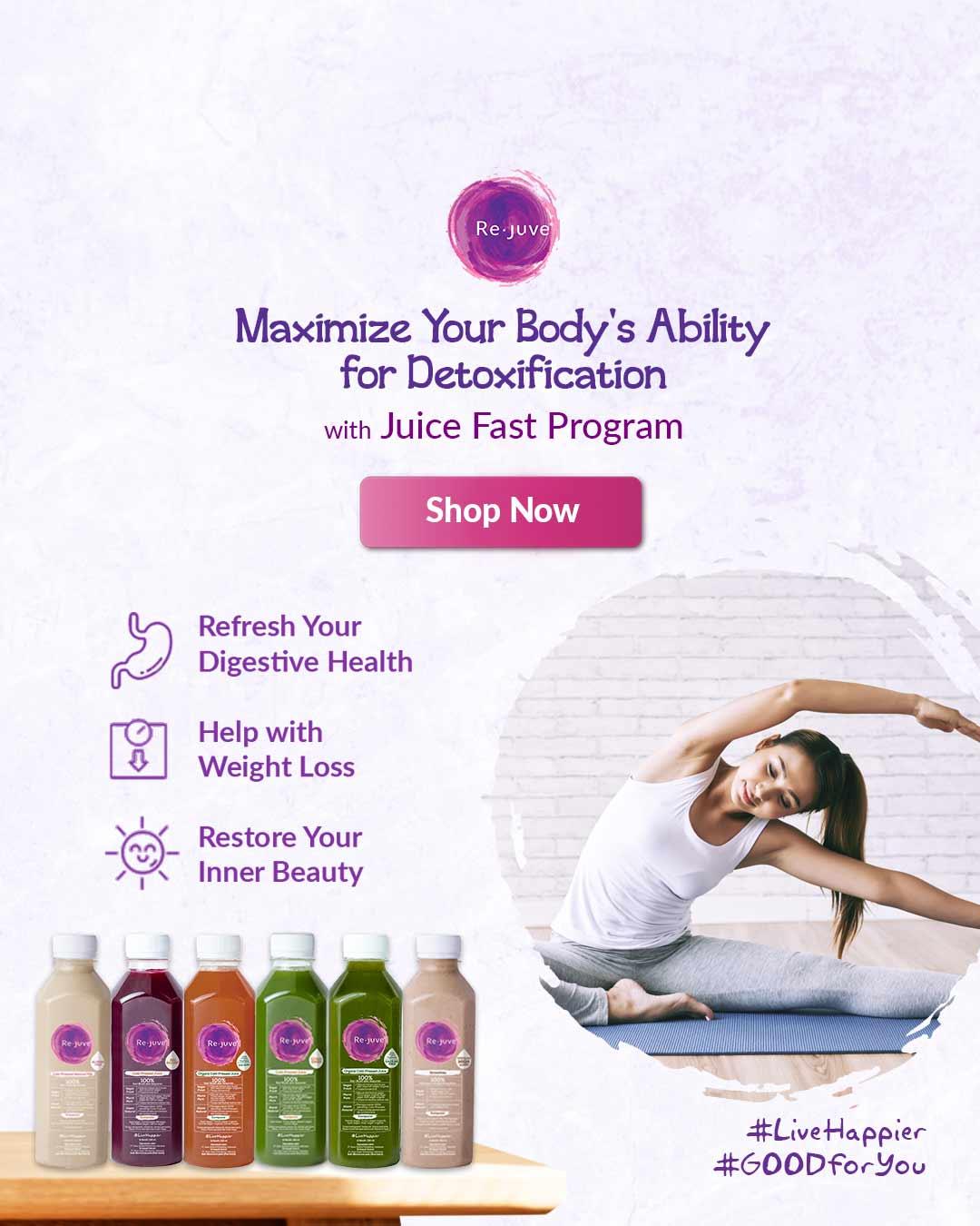 Rejuve Juice Fast Program Surabaya