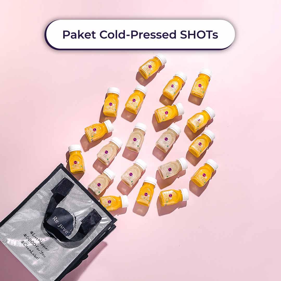 Rejuve Paket Cold Pressed SHOTs New